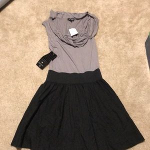 Bebe Dress Connected Shirt and Skirt Combo